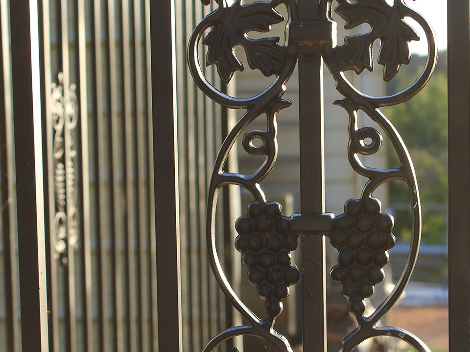 Decorative Ornamental Wrought Iron Garden Gates